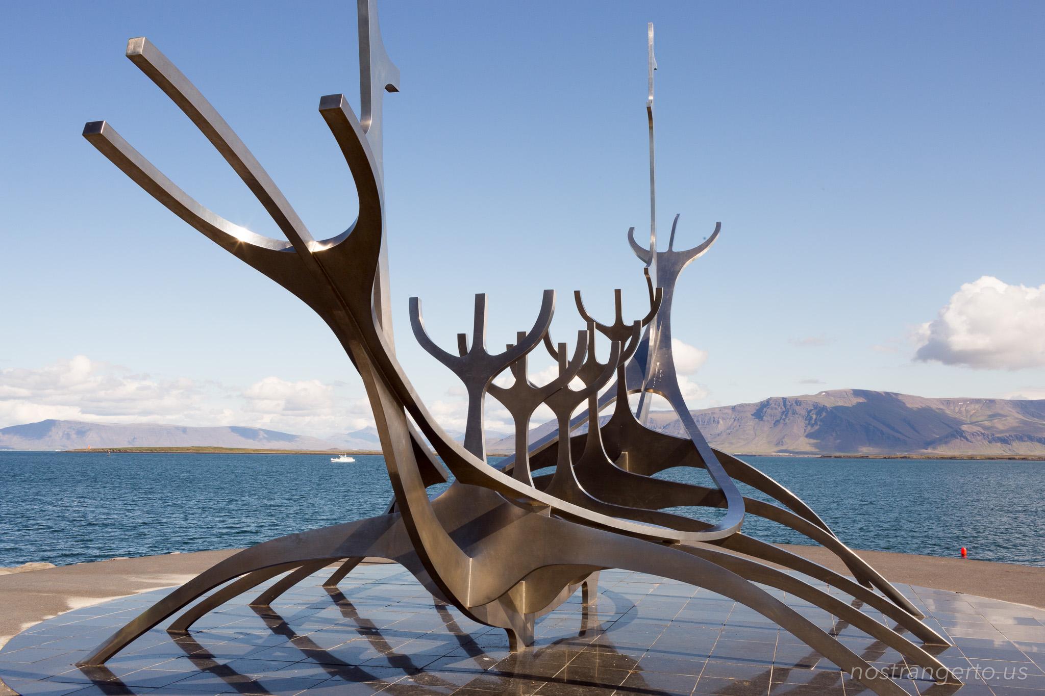Iceland Sólfar - Iceland Trip