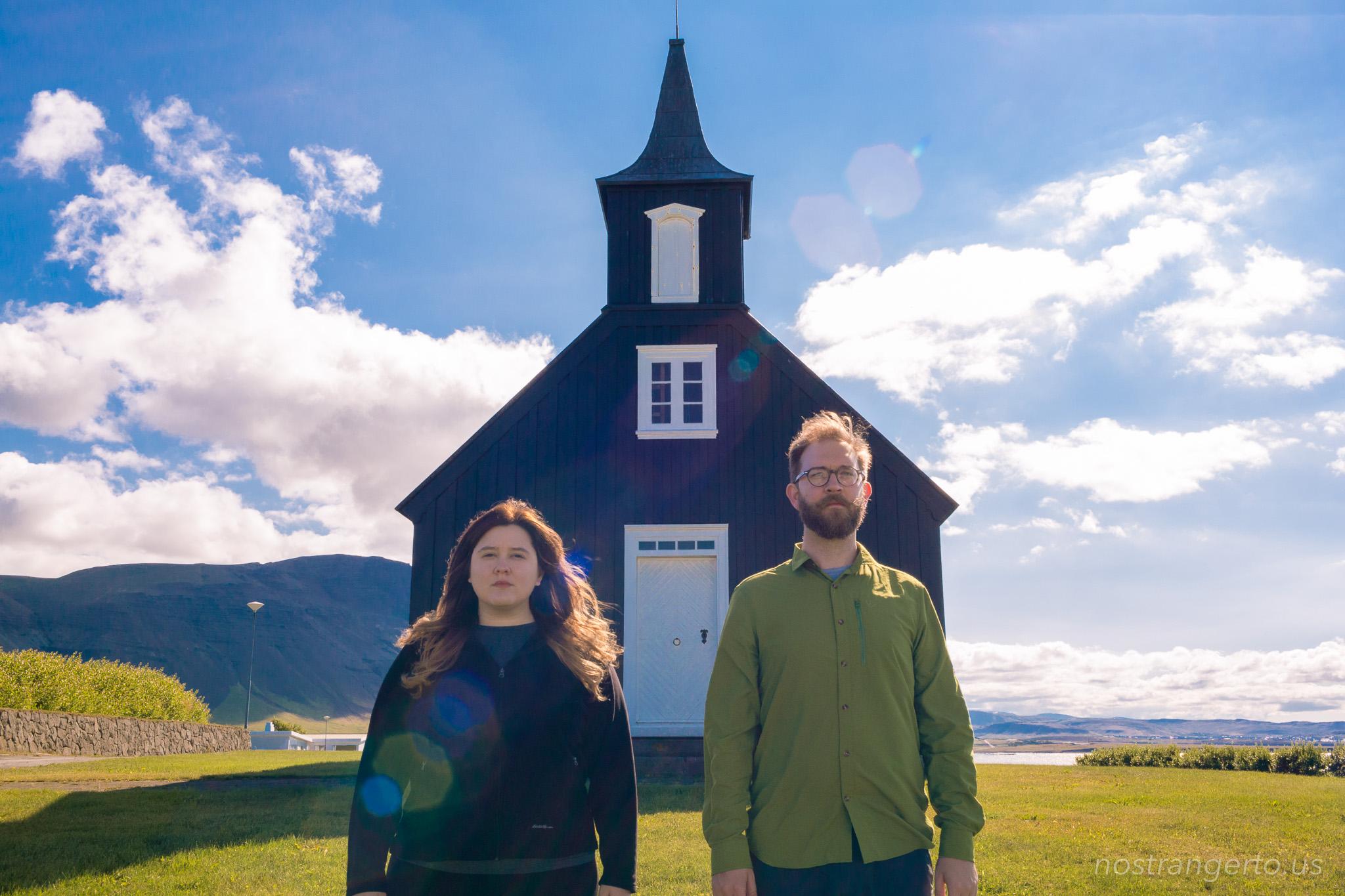 Iceland Hvalsneskirkja Church