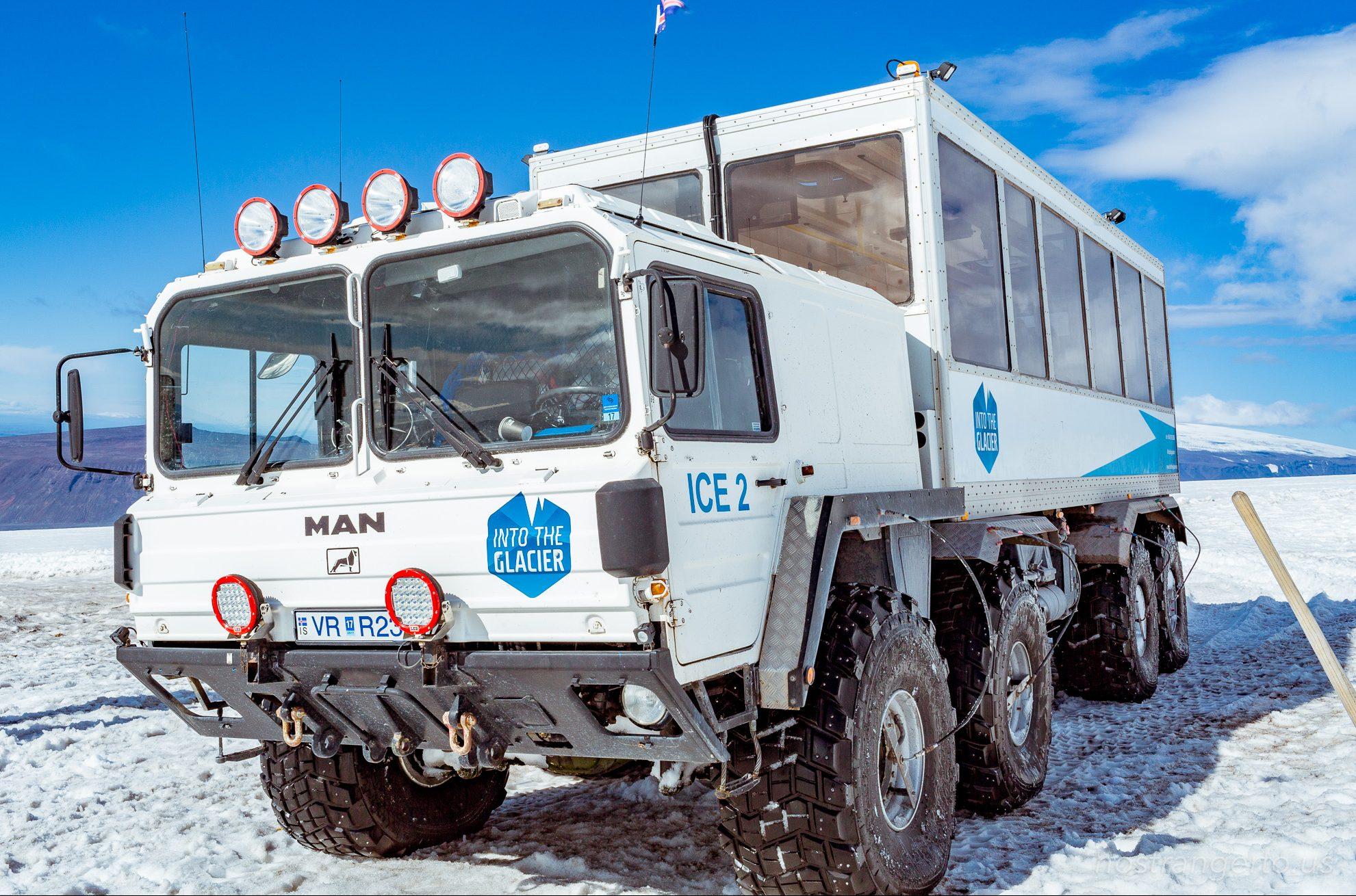 Iceland Glacier - MAN Missile Transport #intotheglacier