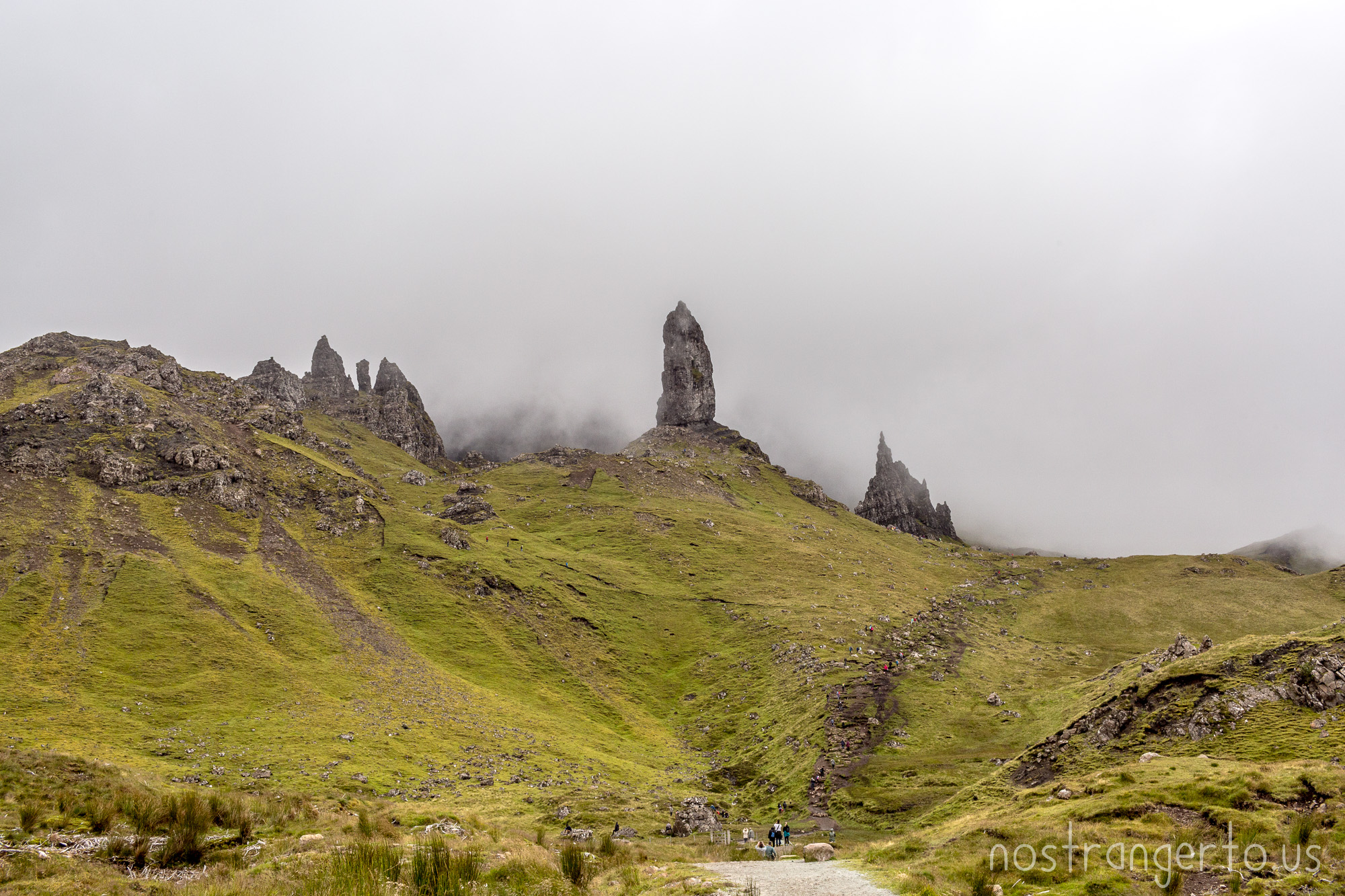 Old Man Storr in Skye, Scotland