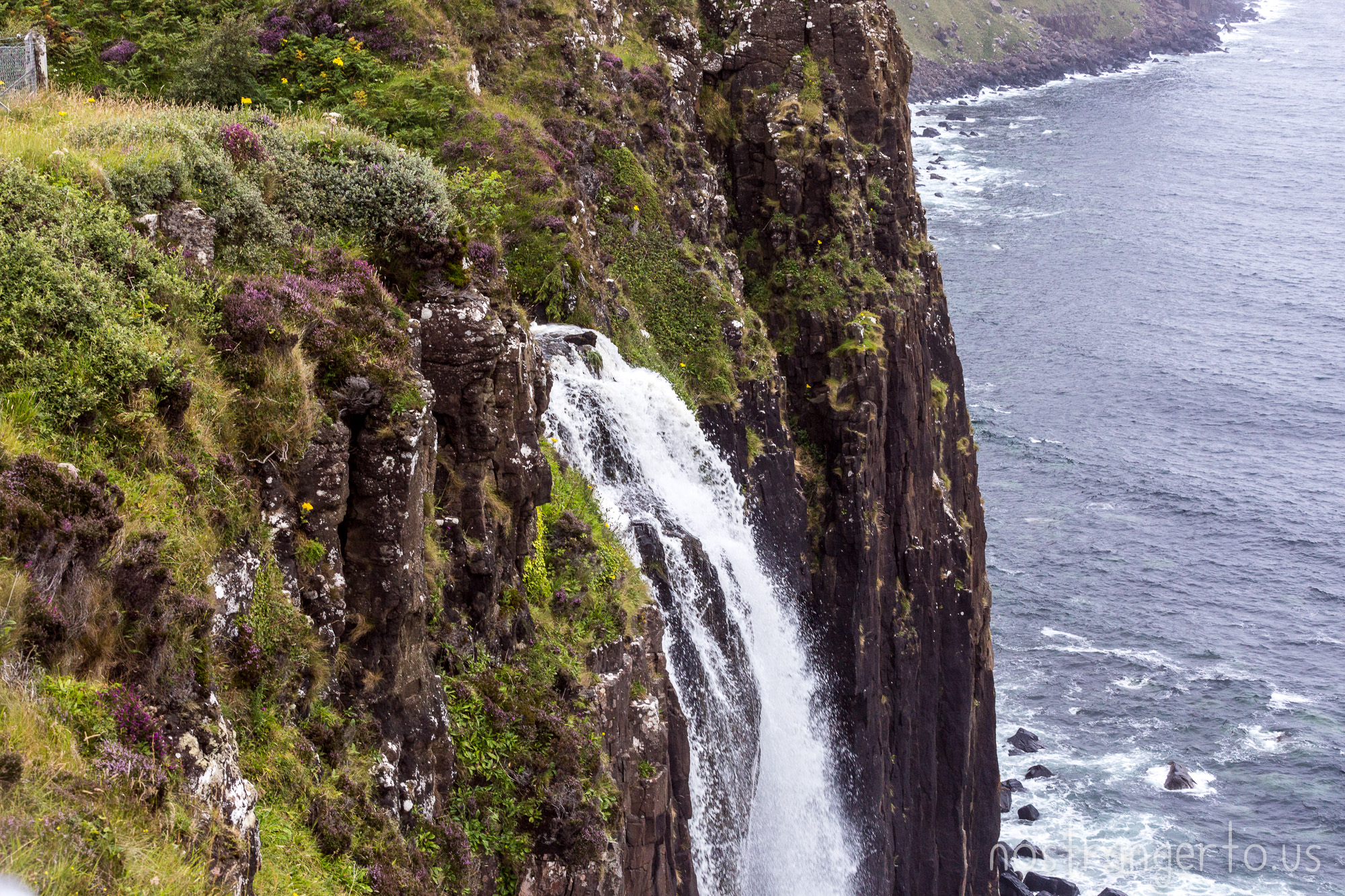 Mealt Falls in Skye, Scotland